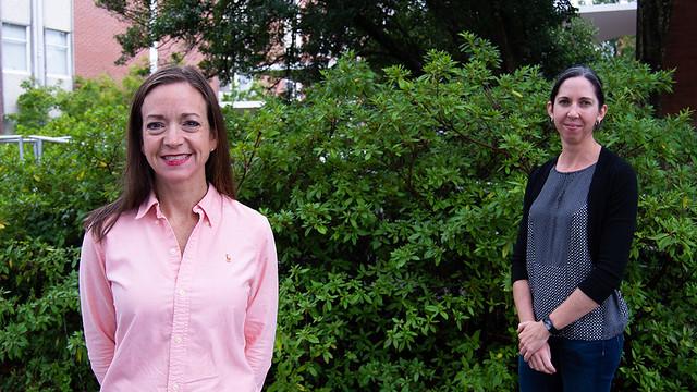 Jenny Koebernick and Alana Jacobson