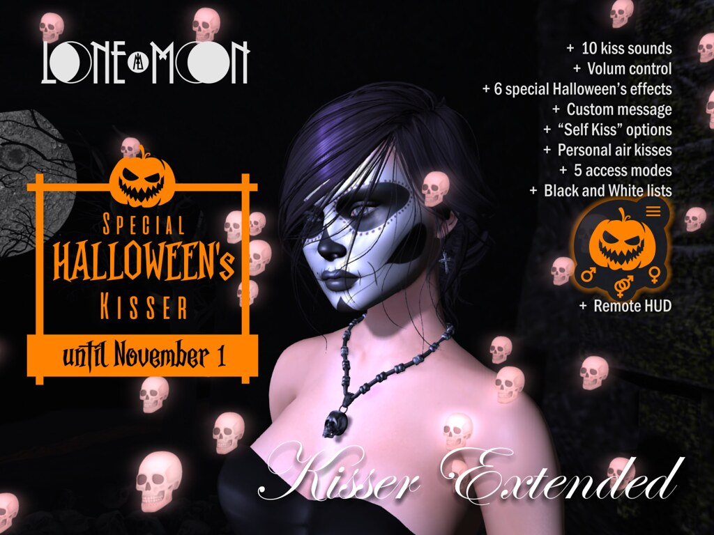 LoneMoon Kisser Extended (Halloween's Edition)
