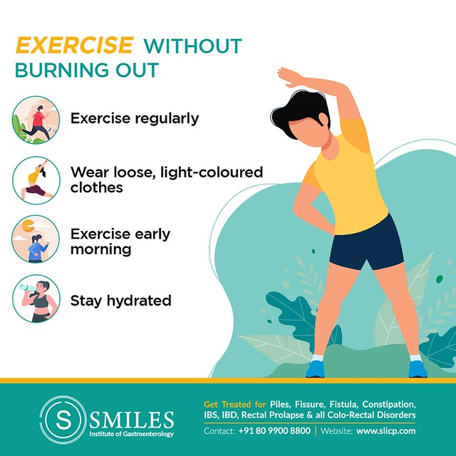 Exercise without Burning out - SMILES