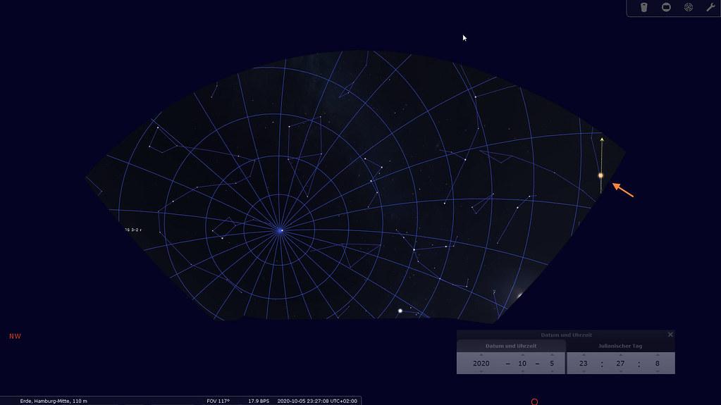 20201005_Stellarium_Mars