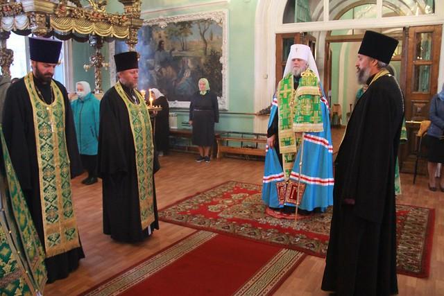 Престольный праздник в Сергиево-Казанском соборе 08.10.2020