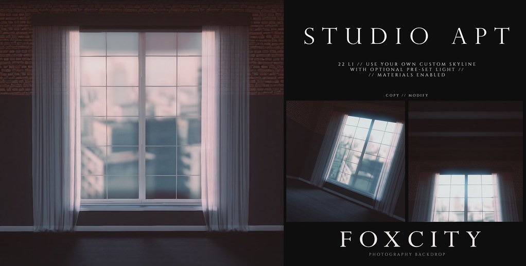 FOXCITY. Photo Booth – Studio Apt