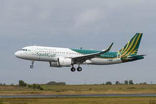 airbus A320 NEO SaudiGuld Airlines (F-WWBF) (MSN 10134), Future VP-CGE