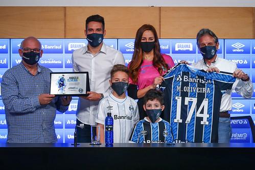 Marcelo Oliveira apresentado como novo Coordenador Técnico do Grêmio