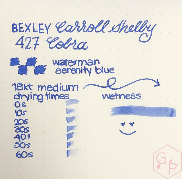 Bexley Carroll Shelby 427 Cobra Fountain Pen 26