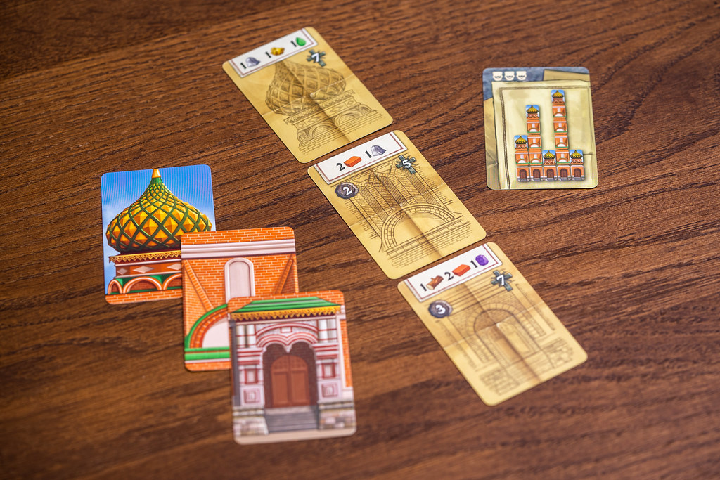 Red Cathedral boardgame juego de mesa
