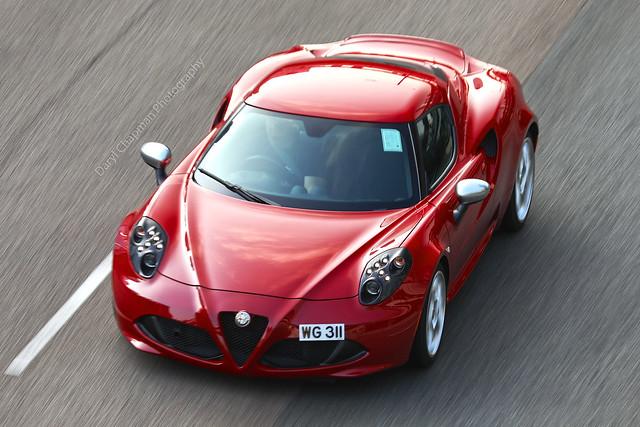 Alfa Romeo, 4C, Hong Kong