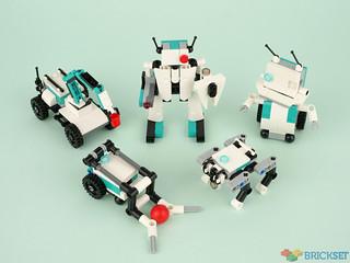 Review: 40413 Mindstorms Mini Robots
