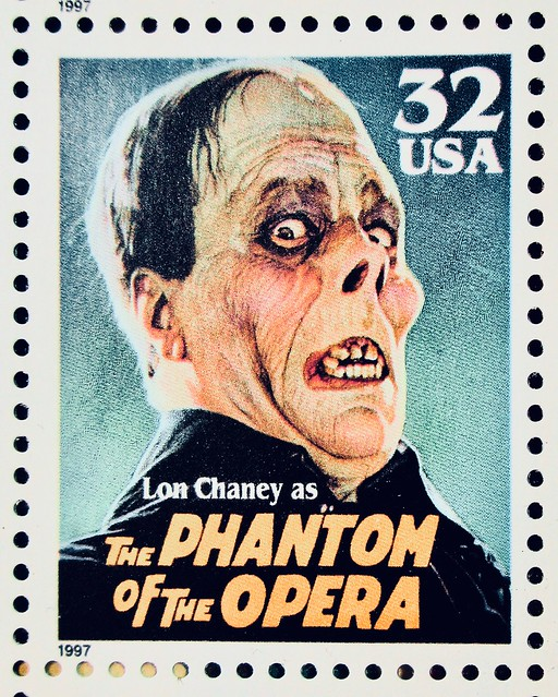 1997 Universal Monsters Stamps Phantom of Opera 8341 A