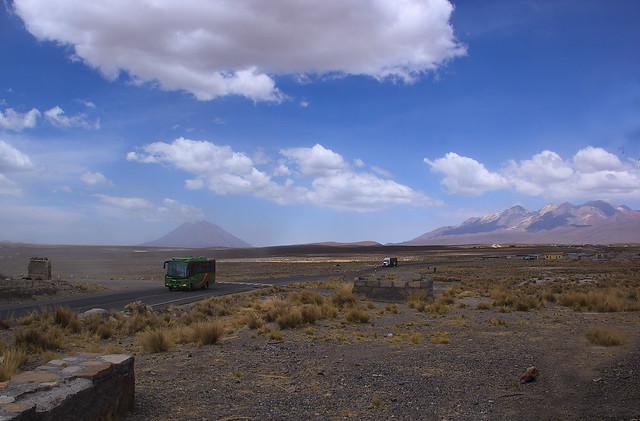 Strada Arequipa-Chivay Perù