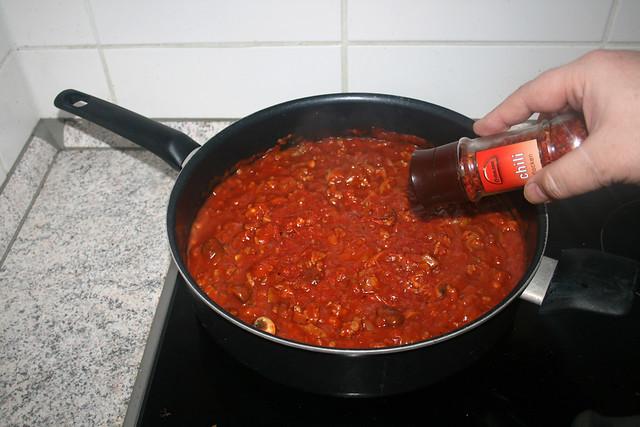 21 - Add tanginess with chili flakes / Mit Chiliflocken für Schärfe sorgen