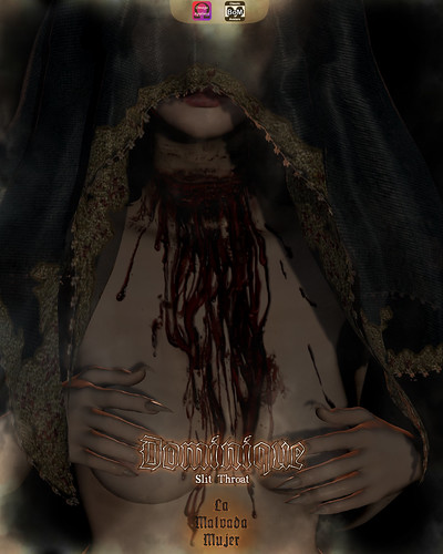 La Malvada Mujer - Dominique Slit Throat / Group Gift