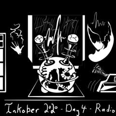 Inktober 2020 - Day 4 - Radio