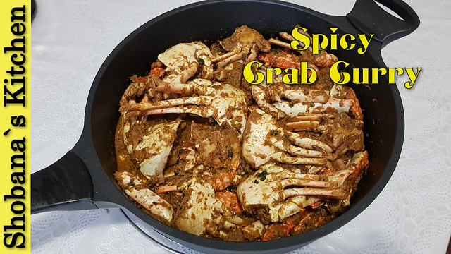 Spicy Crab Curry Sri Lankan Style / Nandu Kulambu / Shobanas Kitchen