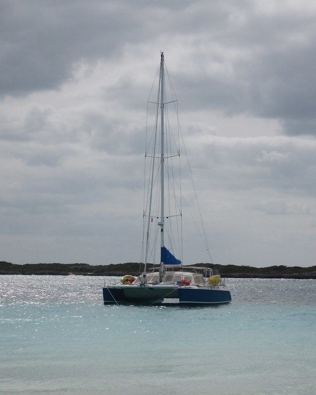 Take Two Anchored in the Bahamas 2016