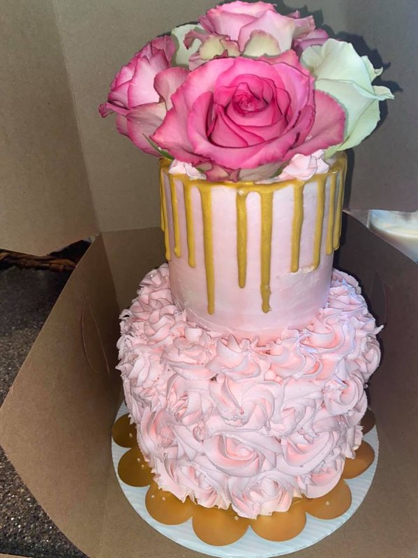 Cake by Brittany's Bakery