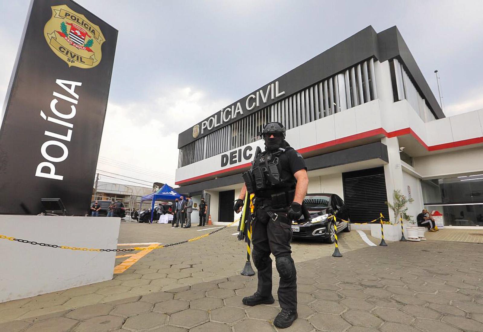 Inauguração da Divisão Especializada de Investigações Criminais (Deic) de Bauru