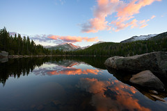 The Sony FE 12-24mm f/2.8 GM Lens Finds a Perfect Sunset at Bear Lake, Rocky Mountain National Park