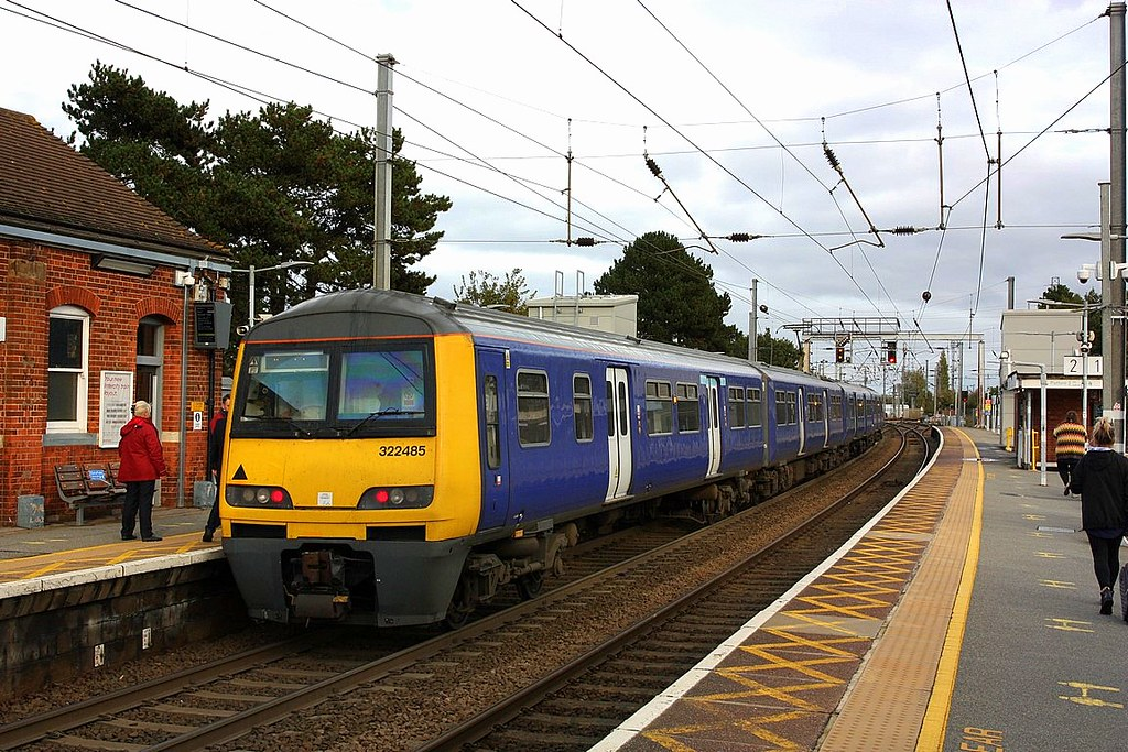 Down main to Branch at Manningtree