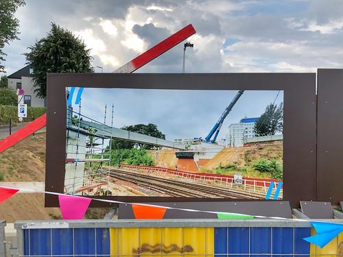 Opening Parkwegbrug Heverlee