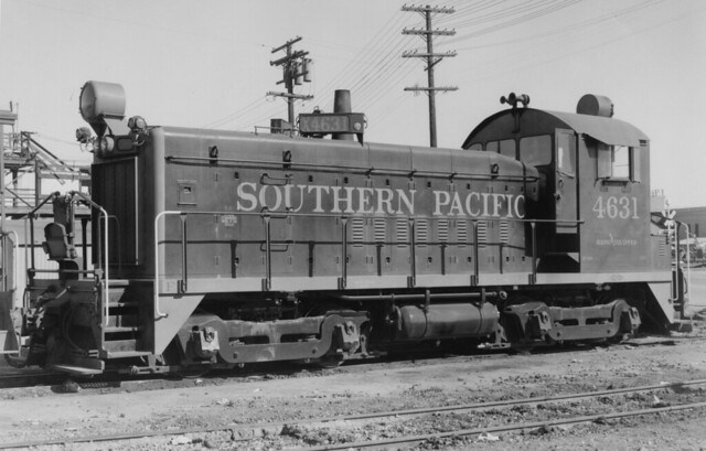 Southern Pacific EMD SW900 4631