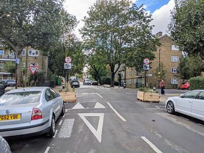 Mornington Street filter at Albert St