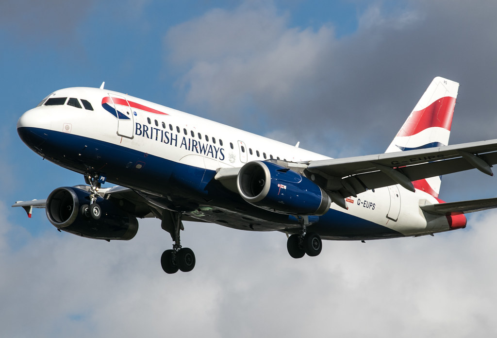 Airbus A319 - British Airways - G-EUPS
