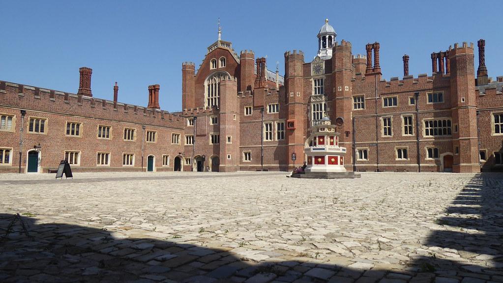 Base Court, Hampton Court Palace, London