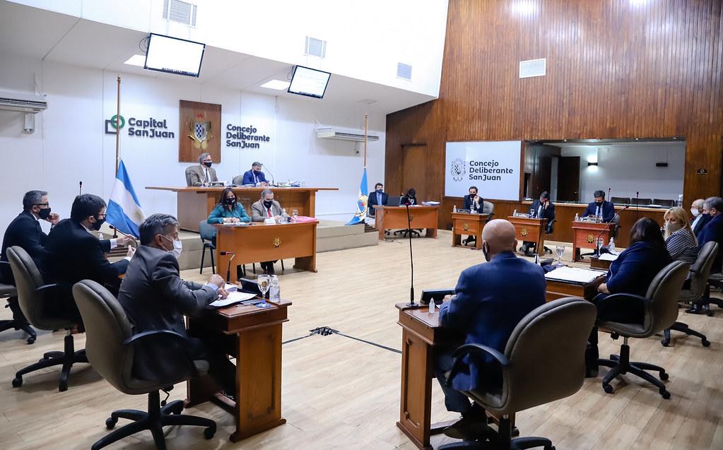 2020-10-08 Sesión del Concejo Deliberante