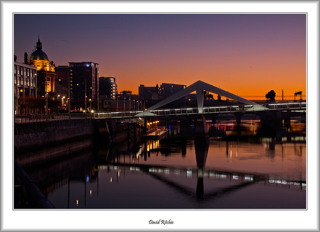 Sunrise at Tradeston