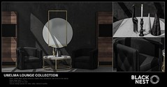 BLACK NEST / Unelma Lounge Collection / Collabor88