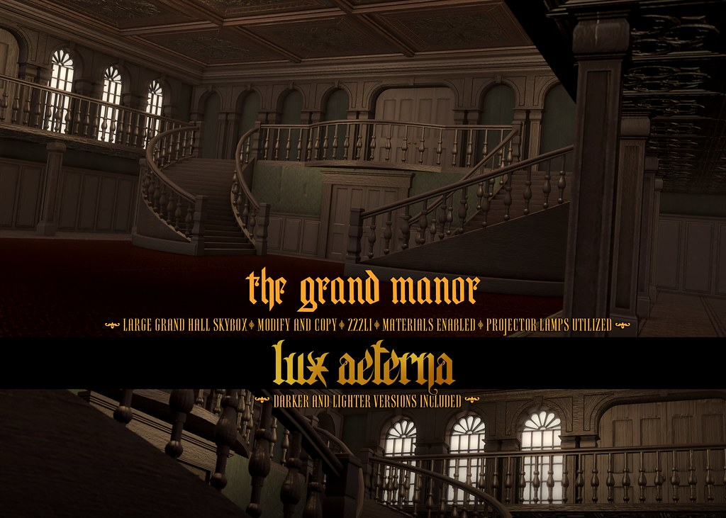 "LUX AETERNA ""The Grand Manor"" @ C88"