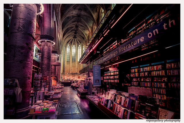 Bookstore In An Old Chrurch In Maastricht
