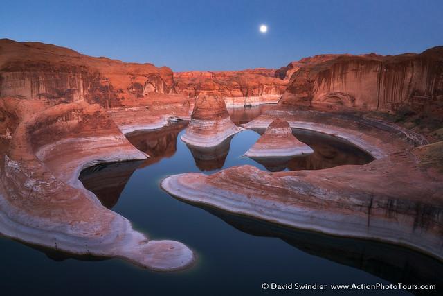 Moonrise Reflections