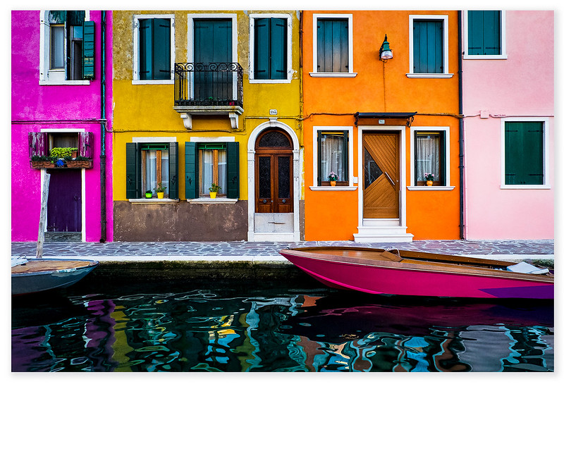 Burano by Bill Banning