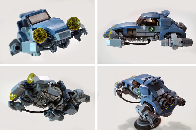 Daxman's Rocketwagen - angles