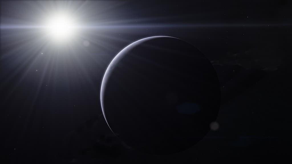 Du métal vaporisé dans l'air d'une exoplanète