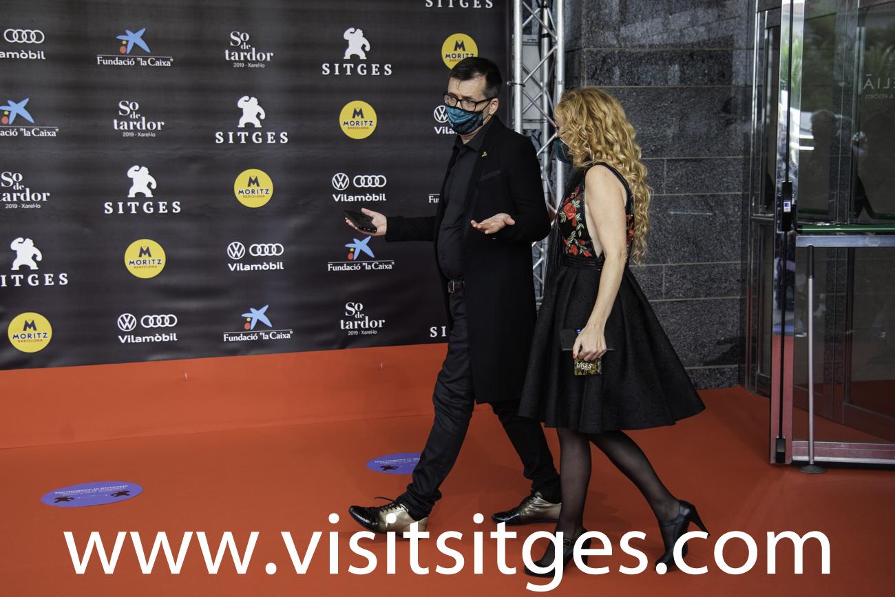 EQUIPO MALNAZIDOS EN EL SITGES FILM FESTIVAL 2020