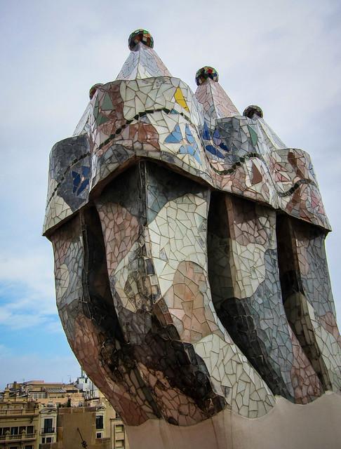 Roof, Casa Batllo
