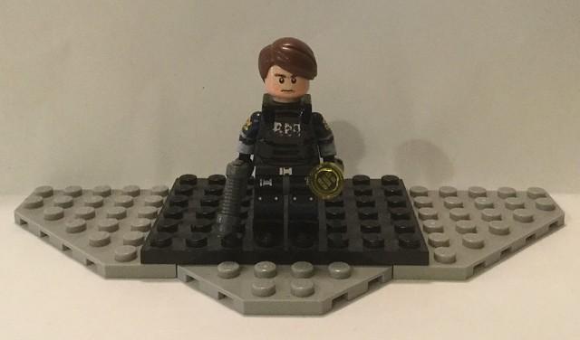 Lego Custom: Leon Kennedy (Resident Evil 2)