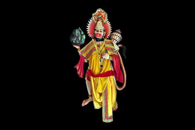 India - Himachal Pradesh - Bhagsu - Temple - Hanuman - 13d