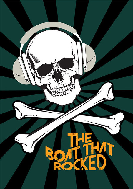 The Boat That Rocked - Alternative Movie Poster