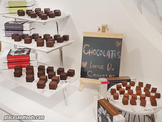 lavile du chocolat aeon maluri chocolates