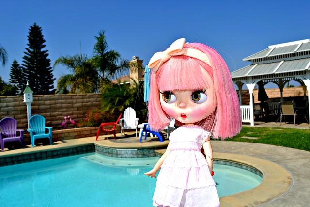 Oh a Pool!!!!