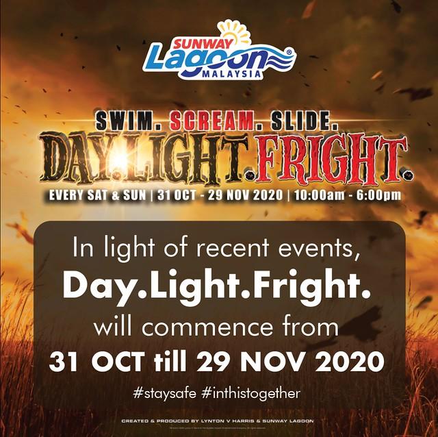 Pesta Halloween Day.light.fright Sunway Lagoon Ditunda Gara-Gara Covid-19