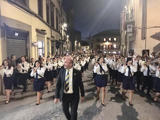 Moretti alla guida della 'Filarmonica Vejanese'