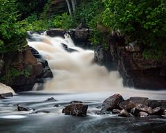 Ritchie Falls in Minden, Ontario