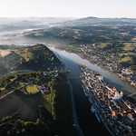 Sunrise over Passau - no drone involved :wink: