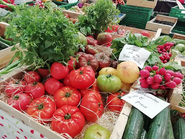 légumes à Forville