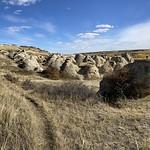 Writing on stone park Alberta 2020